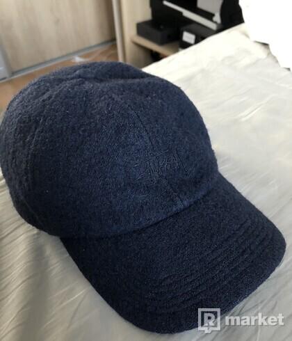 Stussy Wool Stock logo strapback