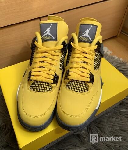 Jordan 4 Lightning