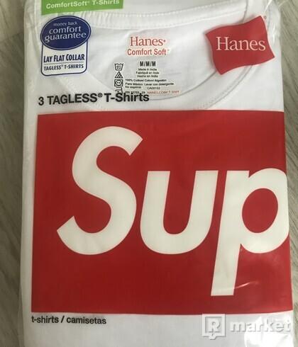 Supreme hanes tee