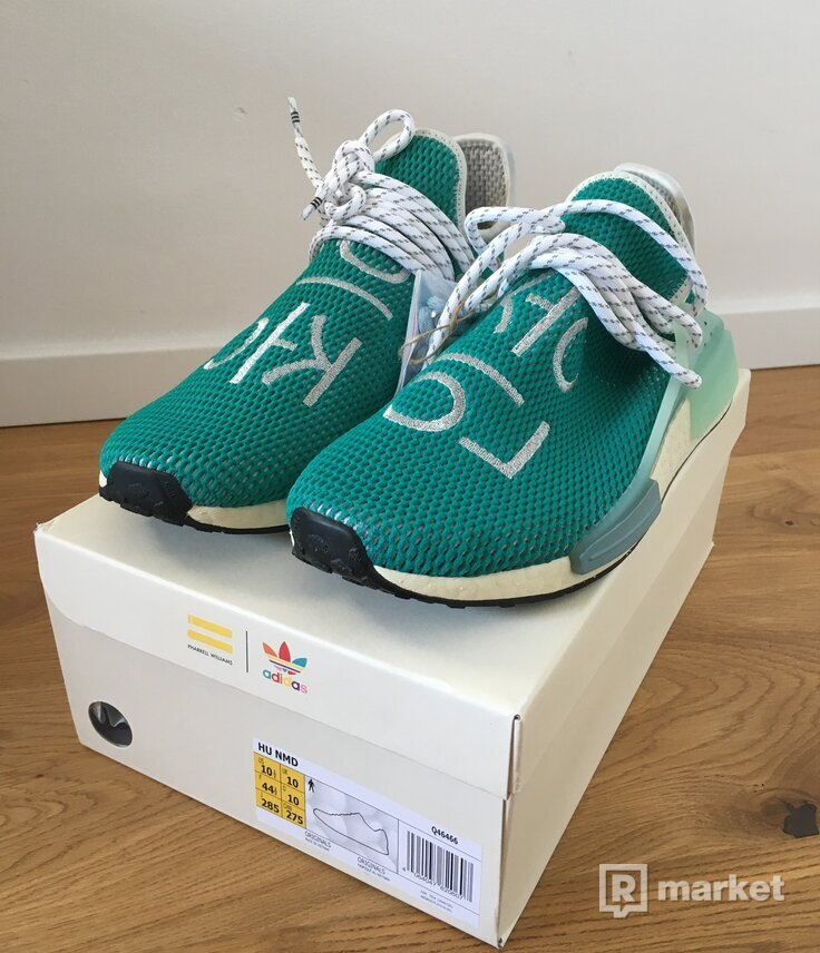 adidas NMD Hu Pharrell Dash Green