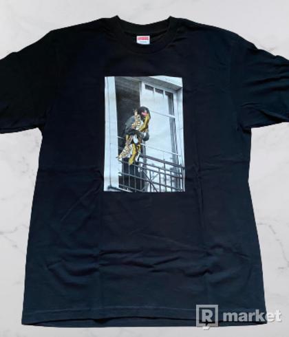 Supreme/ANTIHERO Balcony Tee Black