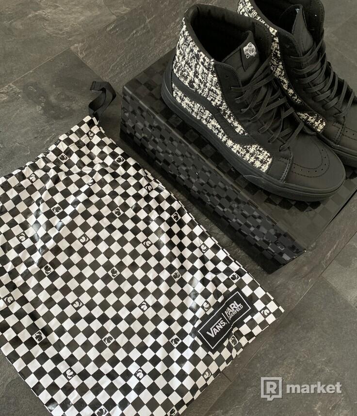 Vans x Karl Lagerfeld SK8-HI REISSUE