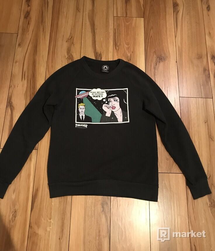 Thrasher boyfriend sweatshirt