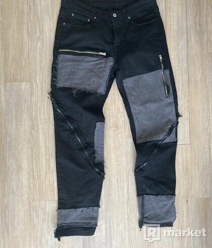 Custom zipper pants