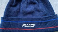 Palace Basically a Beanie Navy