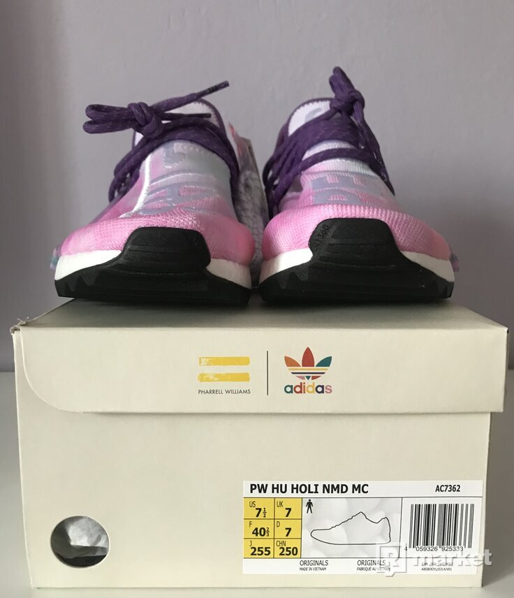 Adidas Human race Holi Pink Glow