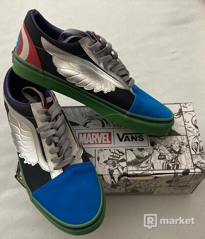 Vans Old Skool Marvel What The Avengers