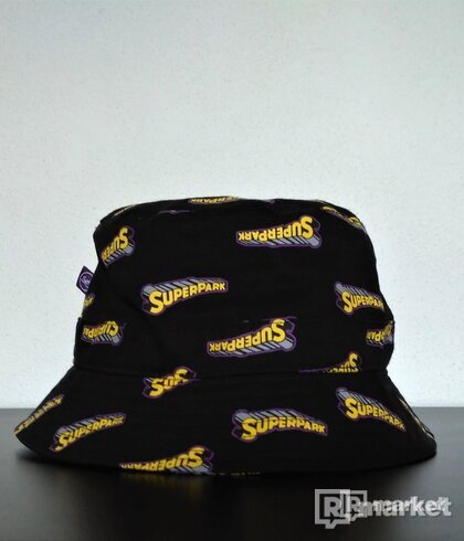 Superpark Bucket Hat Black