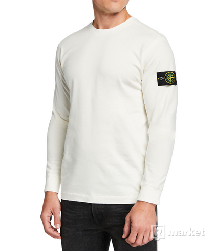 Stone Island Light Crewneck Ivory