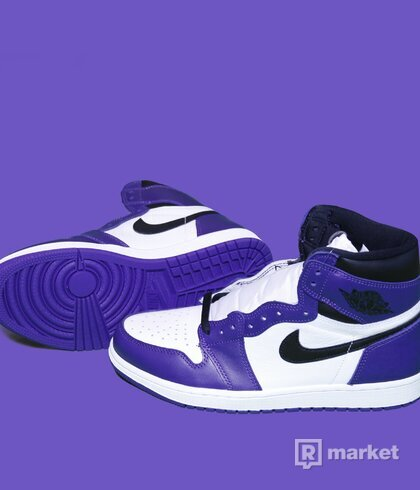 Air Jordan 1 Court Purple 2.