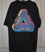Palace Tri Ferg Colour Blur Tee Black