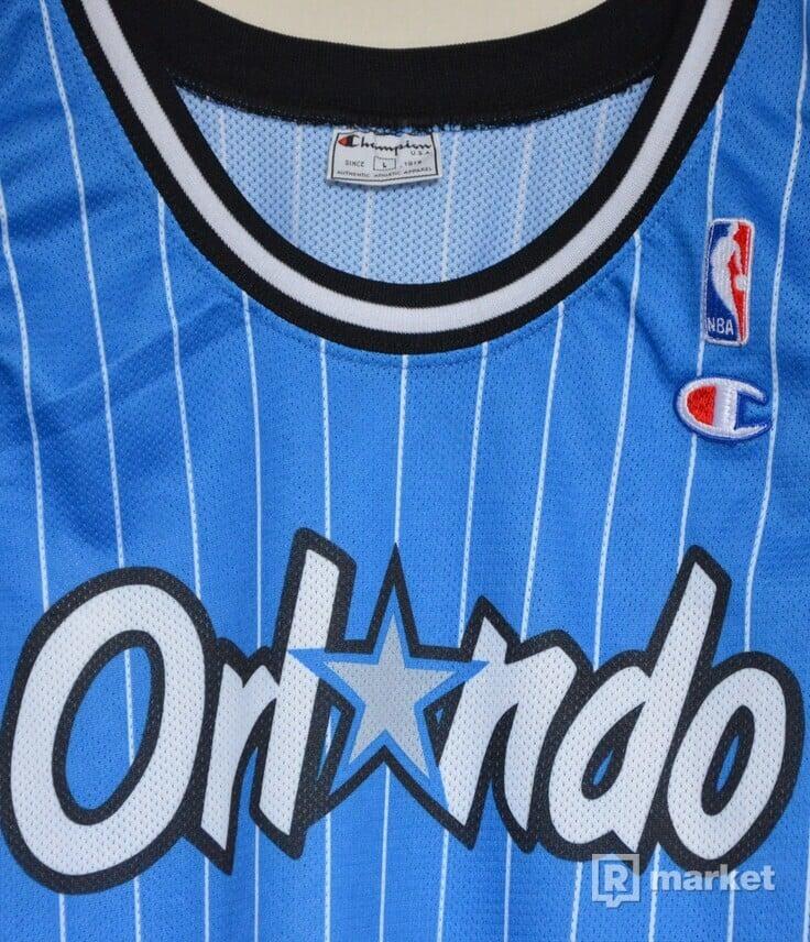 Vintage Anfernee Penny Hardaway Orlando Magic #1 Champion Jersey