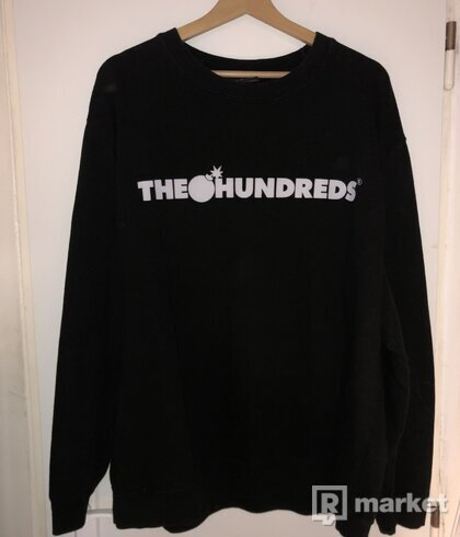 The Hundreds mikina crewneck
