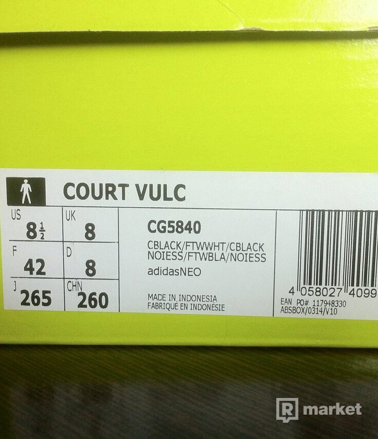 Adidas Cour Vulc (Adidas neo)