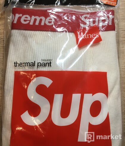 Supreme Hanes Thermal Pant