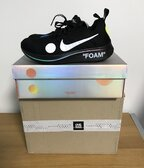 NIKE OFF WHITE ZOOM FLY - US 8