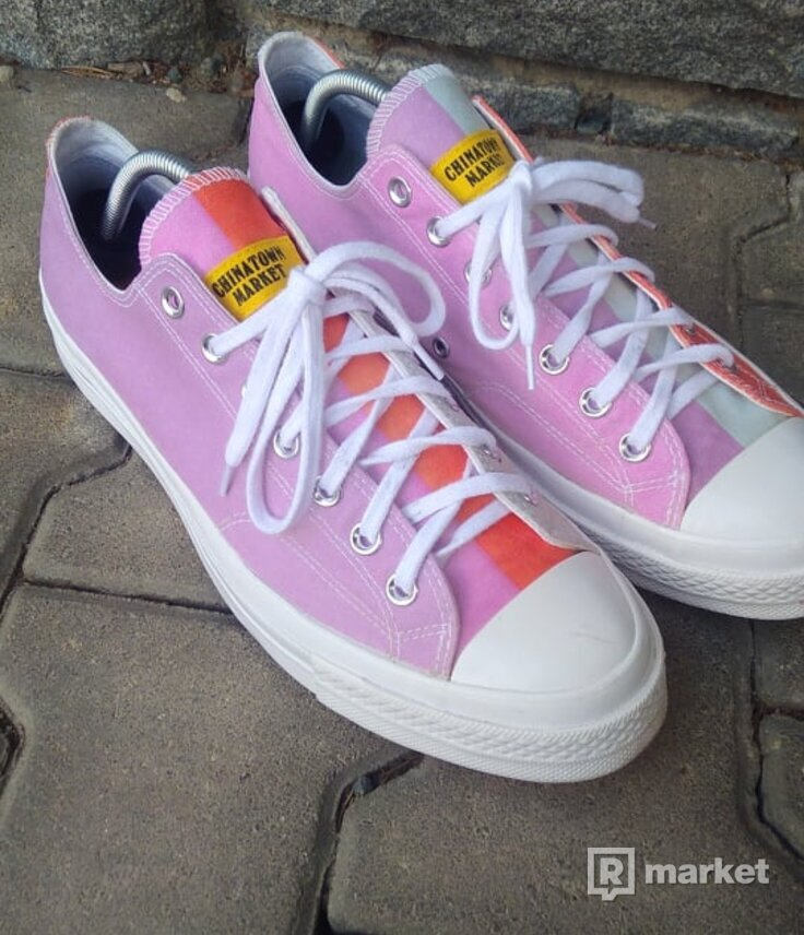 Converse x China town market All stars low
