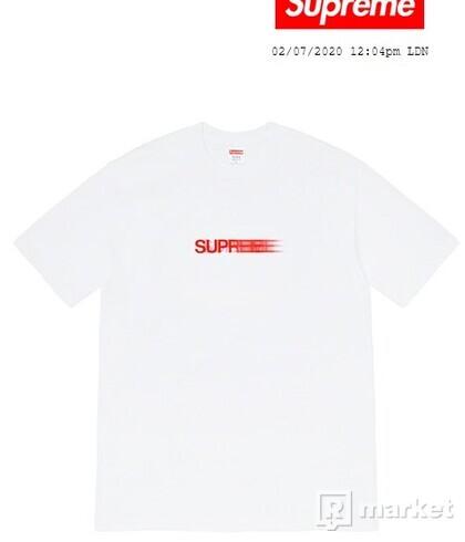 Supreme Motion Logo Tee White