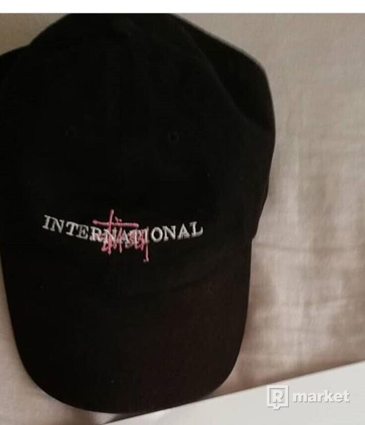 Stussy international black cap