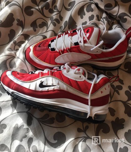 "Air max 98  ""gym red"""