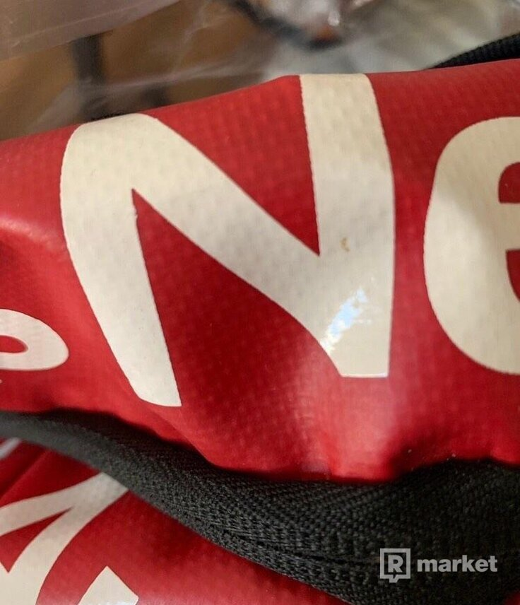 """Supreme x TNF backpack """"by any means necessary"""""""