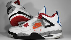 "Air Jordan Retro 4 og ""What The"""