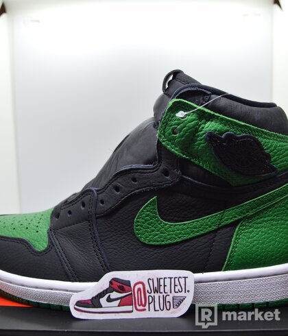 Air Jordan 1 Retro High Pine Green Black
