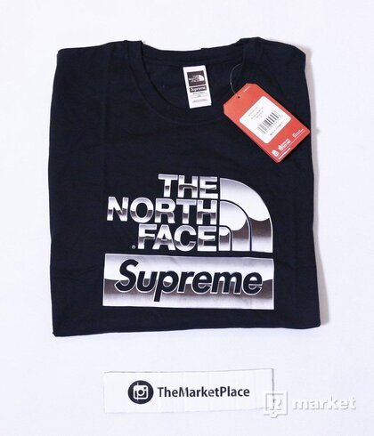 Supreme x The North Face Metallic tee