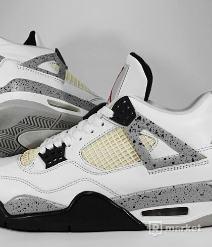 "Air Jordan Retro 4 OG ""White Cement"" 2016"