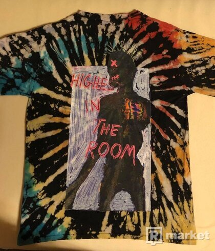 Travis Scott Highest In The Room Tee Tie Dye