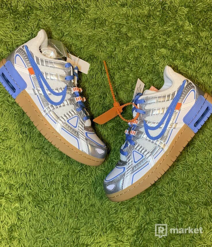 Off White Rubber Dunk UNC