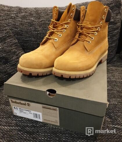 Timberland Premium 6 inch boot wheat yellow
