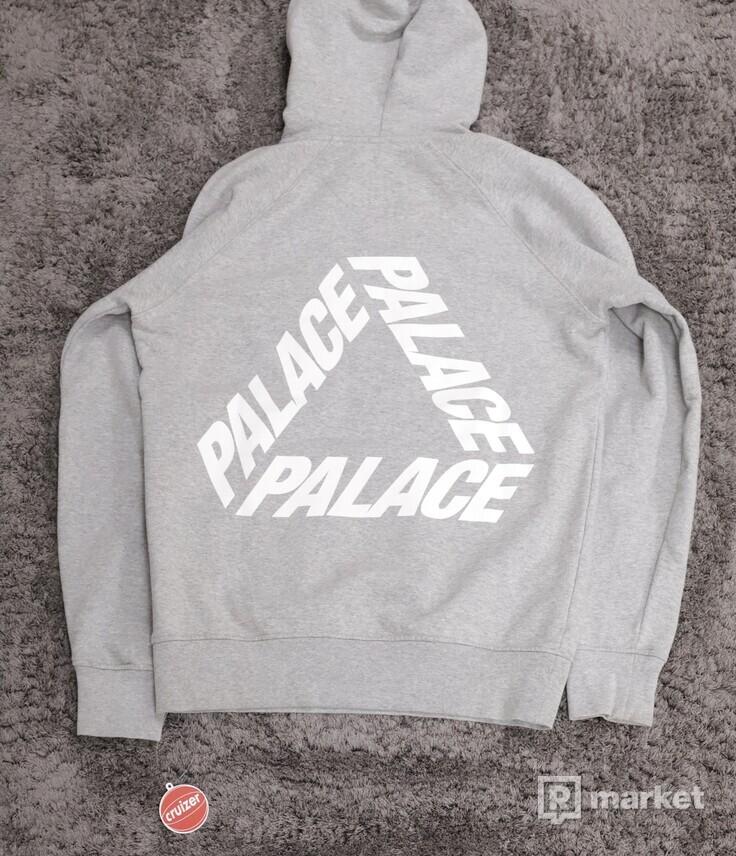 Palace P3 Hoodie Grey
