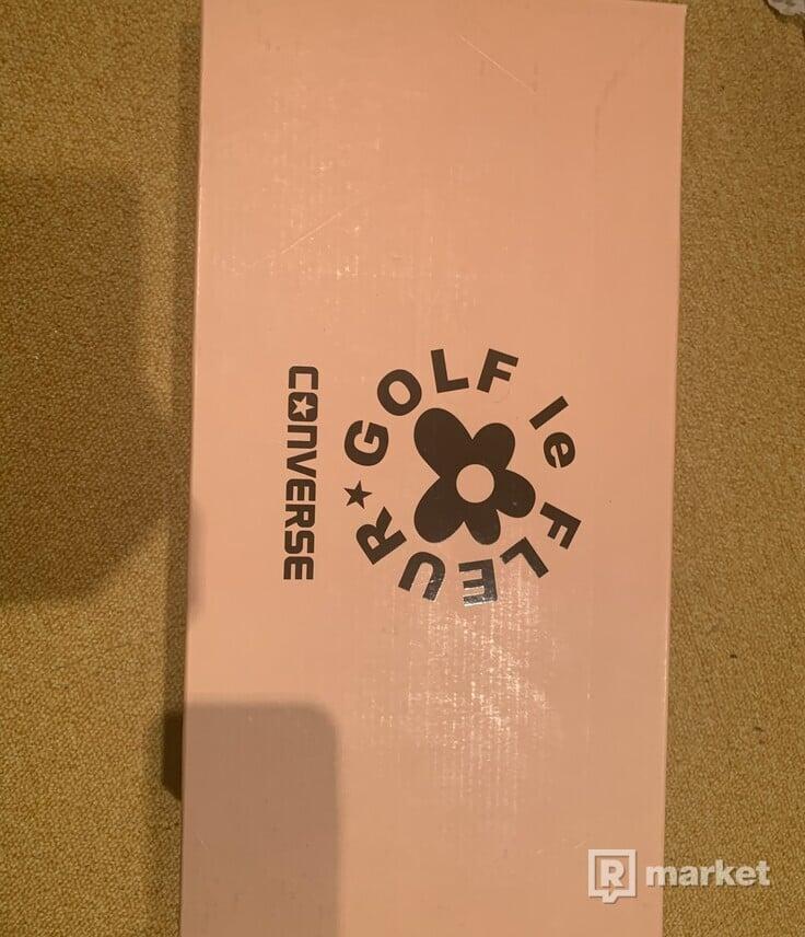 Converse One Star x Tyler the Creator Golf Le Fleur Geranium Pink