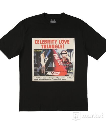 Palace Celebrity Love Triangle tee