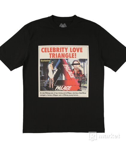 Palace Celebrity Love Triangle tee