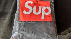 Supreme/Hanes Boxer Briefs - Black