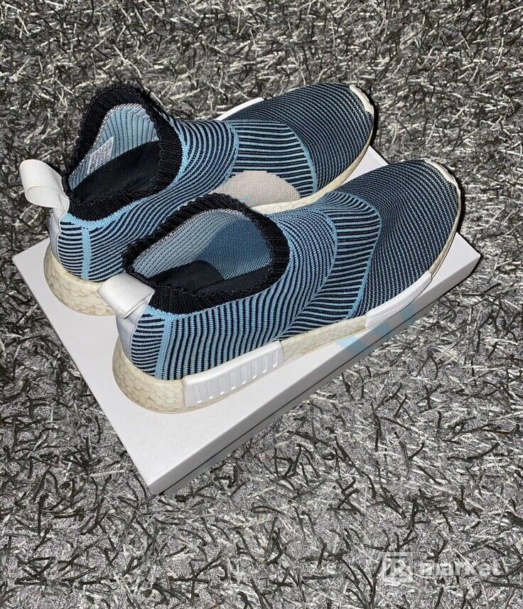 Nike Air Vapormax plus white a Adidas NMD CS1