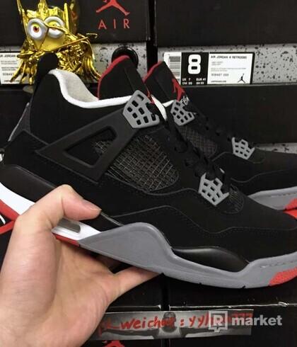Nike Air Jordan 4 Retro Bred
