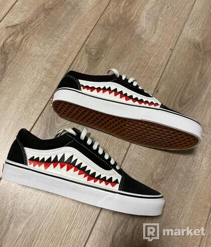 Vans old skool , Shark
