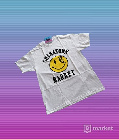 "CHINATOWN MARKET TYSON TATTOO TEE ""WHITE"""