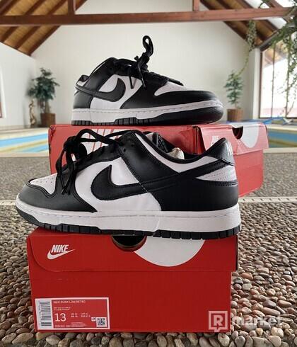 "Nike Dunk Low ""Panda"" White/Black"