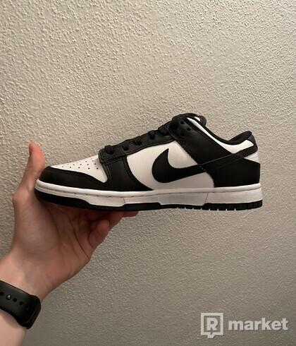 Nike Dunk Low White Black -Eu 41