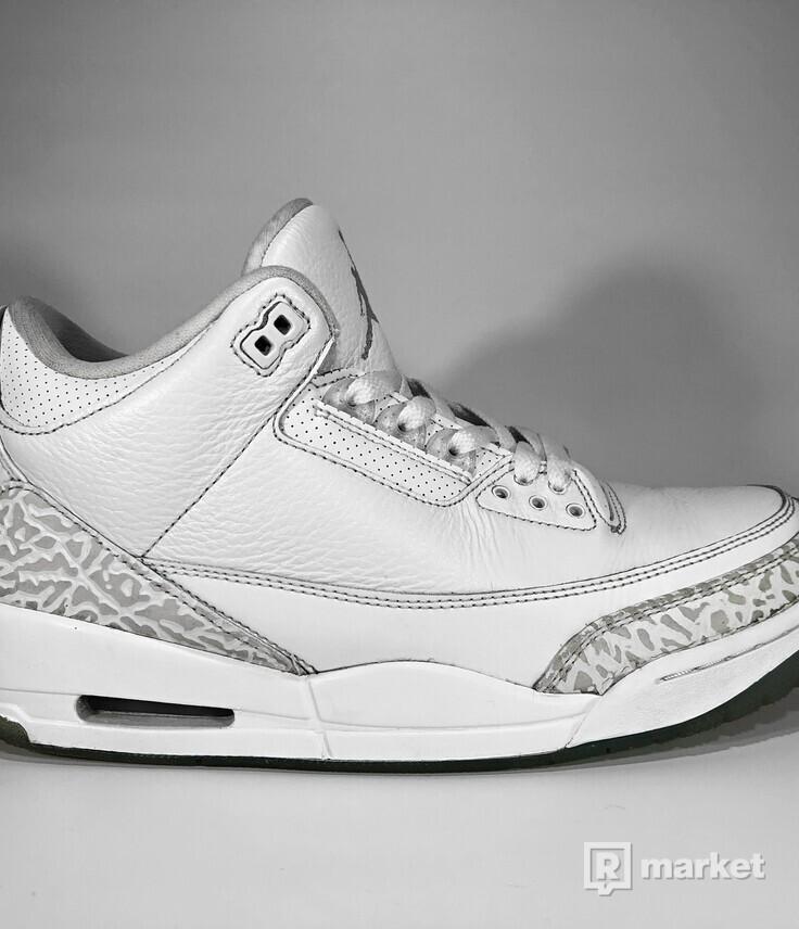 "Air Jordan Retro 3 ""Pure Money"""