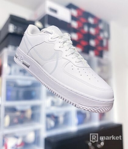 "Nike Air Force 1 React ""White"""