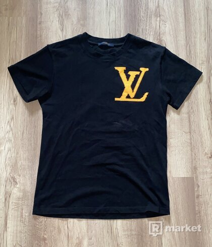Louis Vuitton x Virgil Abloh Brick printed T-shirt