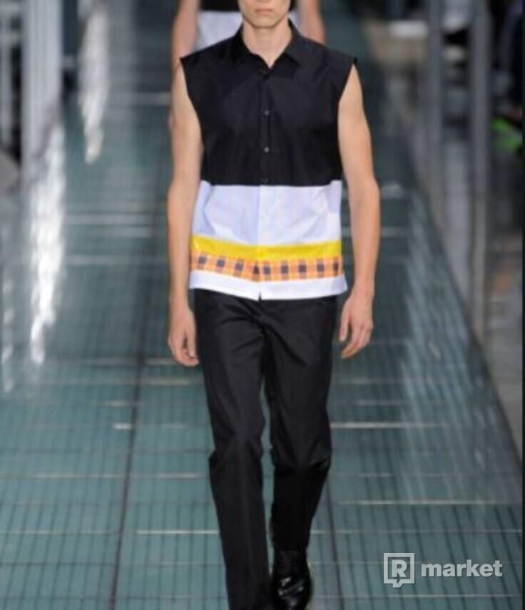 Raf Simons S/S12 Sleeveless Shirt