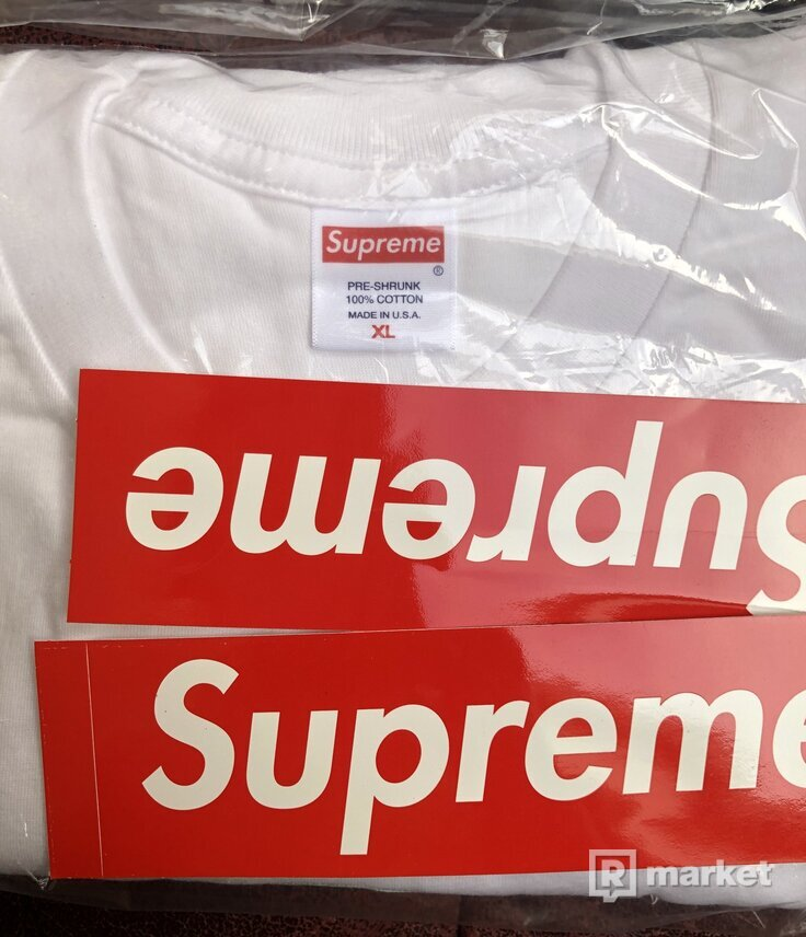 Supreme The North Face One World Tee White