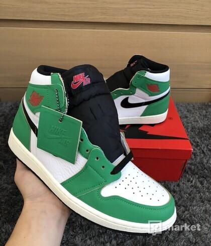 Jordan 1 High Lucky Green