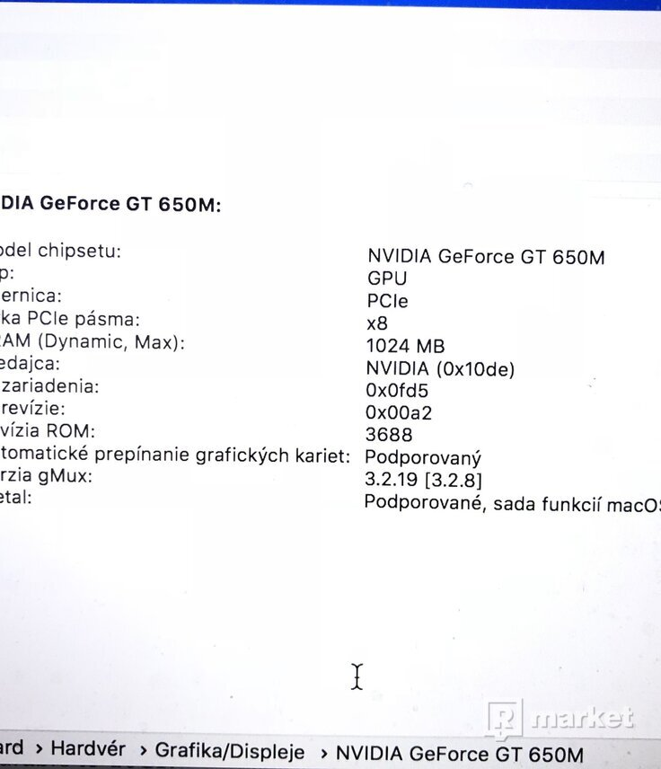 "MacBook Pro 15,5"" Mid 2012"